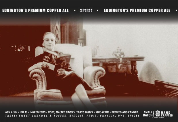 Eddington's Premium Copper Ale