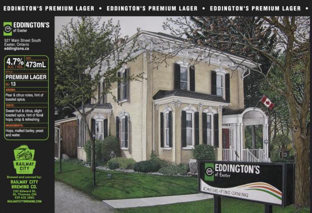 Eddingtons Premium Lager